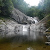 Harpers Creek Falls, NC.  Upper, Middle, and lower.