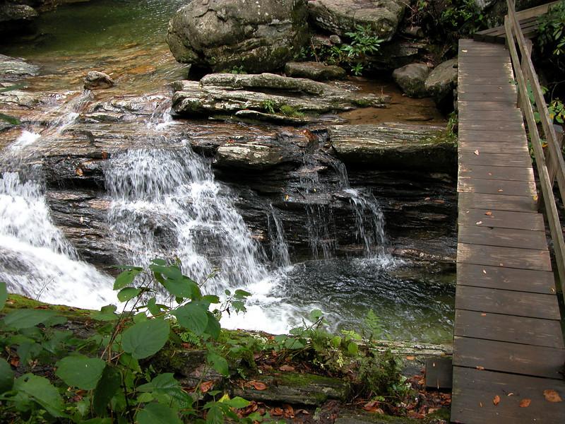 Skinny Dip Falls, NC