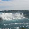 American Falls on the left and Bridal Veil Falls to the right, Niagara Falls, NY