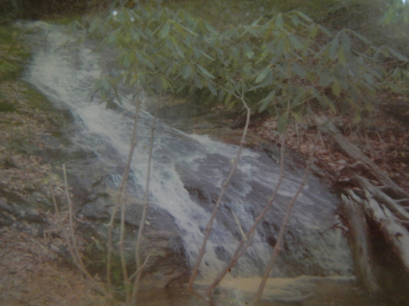 Vaugh Creek Falls, NC...a photo from the book
