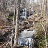 Mill Creek Falls, Upper, SC in Table Rock State Park at 2.7 miles on the Pinnancle Mtn. Trail.