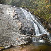 Bubbling Springs Upper Branch Falls, NC, easy hike but need waterproof boots to cross creek several times.  Hiking pole good idea.