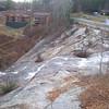Toxaway Falls, NC roadside view.