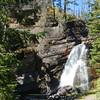 Baring Falls, MT within Glacier NTL Park, easy 0.8 mi round trip