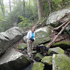 Pinnancle Mtn. Falls hike, Sept 2012