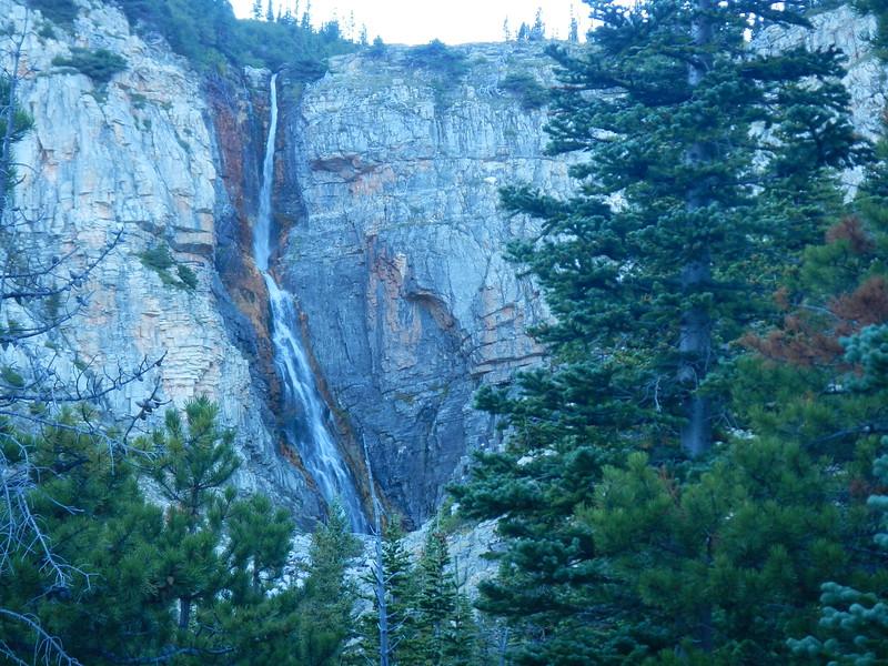 Apikuni Falls, MT within Glacier NTL Park,  1.5 mi round trip, big climb.