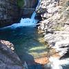 St. Mary Falls, MT within Glacier NTL Park, 1,7 mi round trip.