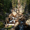 Ouzel Falls, CO 5.2 mi round trip difficult walk in Rocky National Park