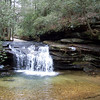 Carrick Creek Falls, SC inside Table Rock State Park