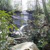 Cliff Falls, SC near Caesars Head State Park.  March 2012.