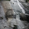 Stone Mountain Falls, NC within Stone Mountain State Park,.  A short walk, this is down at the bottom of about 200 steps.