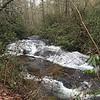 Green River Upper Falls, NC along the Green River Road.