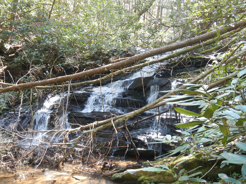 Fall Creek Middle Falls 2, SC