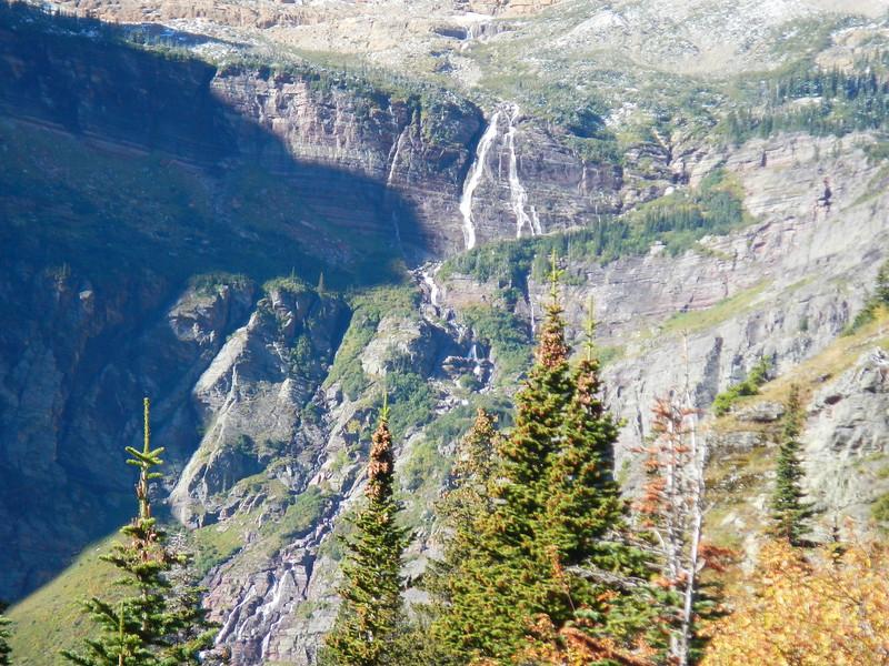 Grinnel Falls, MT within Glacier NTL Park