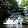 Rock Creek Falls, NC on private property
