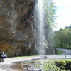 Bridal Veil Falls, N off Hyw 64 between Franklin and Higlaands, NC