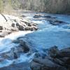 Bull Sluice Rapid/Falls, SC/GA state line on the Chattooga River.