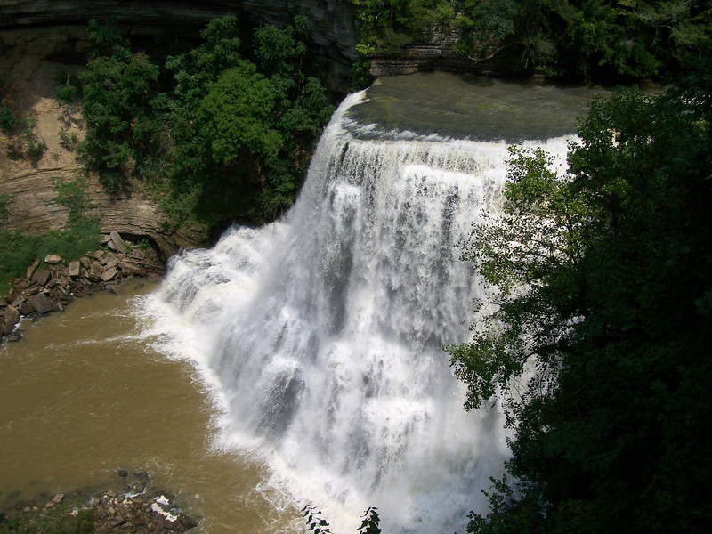 (Lower) Burgess Falls, TN