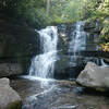 Cedar Rock Creek Lower Falls, NC
