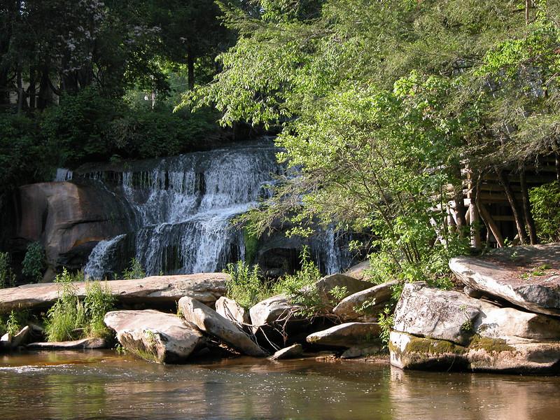 Mill Shoals Falls, NC