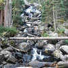 Calypso Falls, CO about 4.0  mi round trip difficult walk in Rocky National Park
