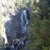 Fish Crreek Falls, CO near Steamboat Springs, about a 1.0 mi round trip, big hill climb on the way back.