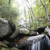 Pinnancle Mtn Falls, SC inside Table Rock State Park.