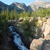 Glacier Falls, CO about a 2.7 mi round trip easy walk, Rocky National Park