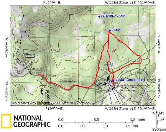 WBC Snow Camp (Mammoth) 03-2009