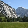 Half Dome above the meadow