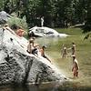 kids playing in Mirror Lake
