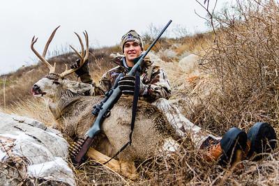 Zach's Mule Deer 2015