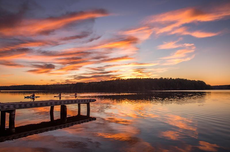 Lake Brandt Kayaking