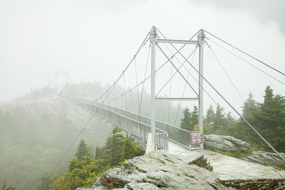 Mile High Swinging Bridge, Grandfather Mountain