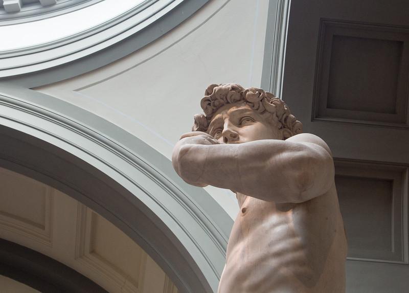 Michaelangelo's Statue of David