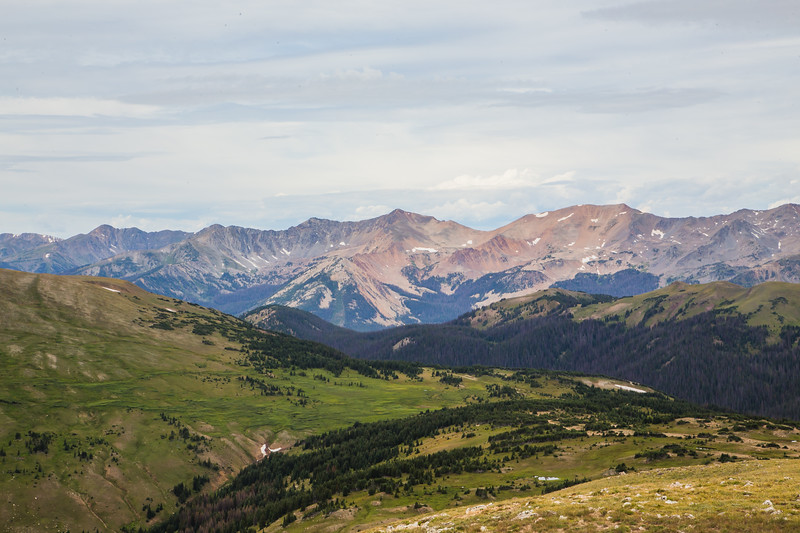 Rocky Mountain Park- View from Trail Ridge Rd.