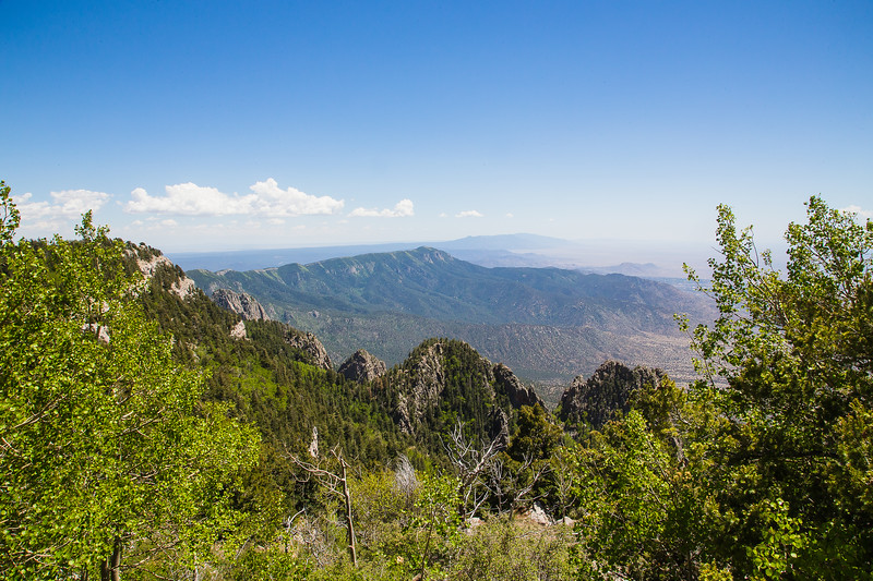 Looking South from Sandia Crest- Albuquerque, NM