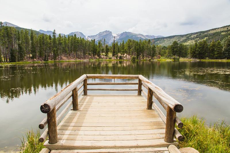 Rocky Mountain Park- Sprague Lake