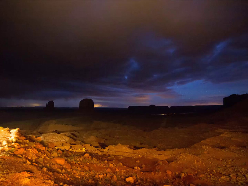 Monument Valley Nights