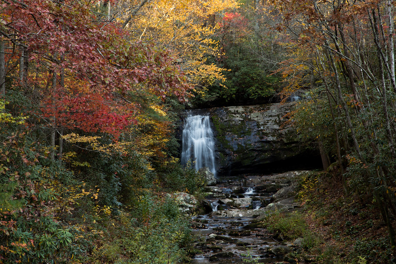 Meigs Falls in The Great Smoky Mountains National Park, TN