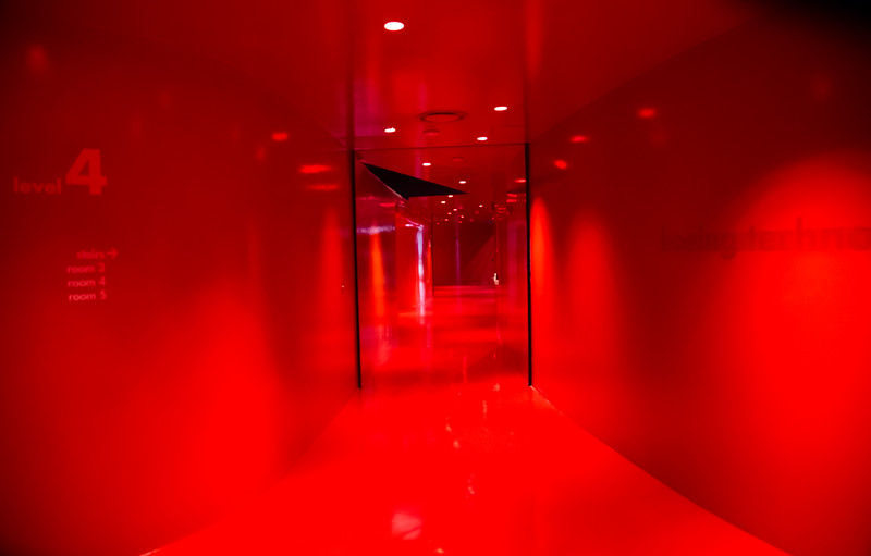 Red Hall at the Seattle Central Library
