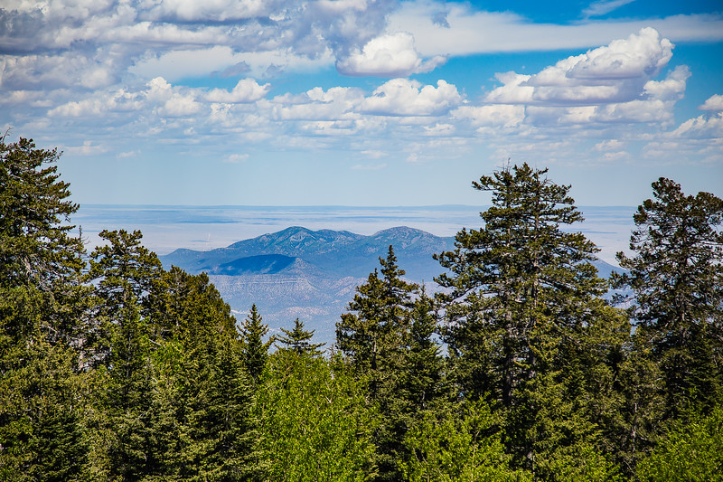Looking North from Sandia Crest- Albuquerque, NM