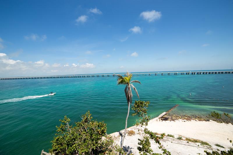 Over the Ocean Highway in the Florida Keys