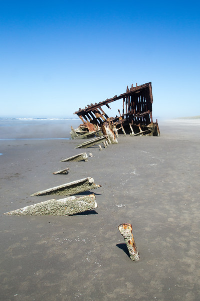 Peter Iredale Shipwreck- Hammond, OR