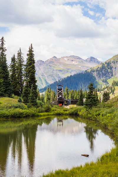 Red Mountain Mining District near Ouray, CO