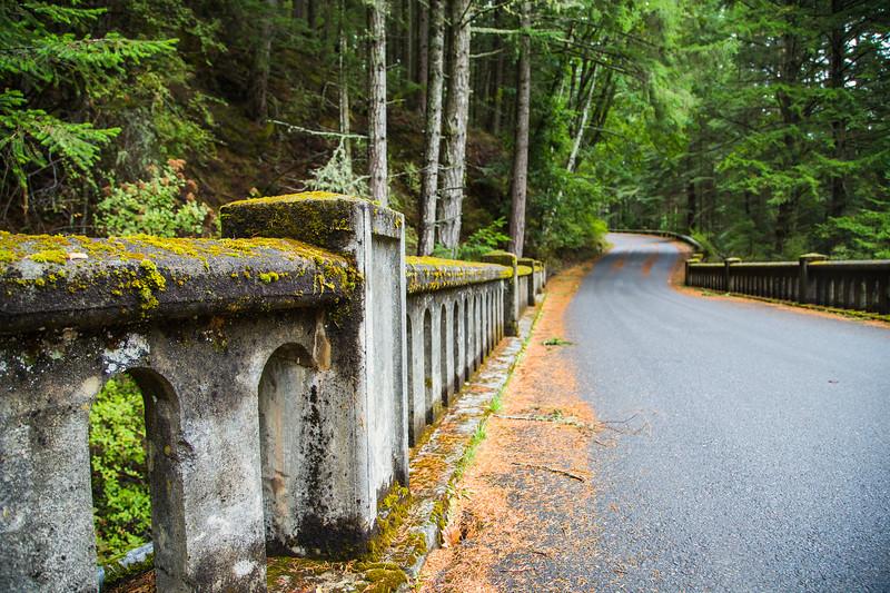 Bridge in Moran State Park on Orcas Island, WA