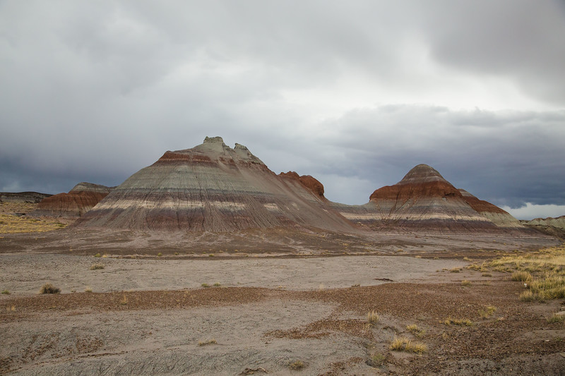 The TeePees in Petrified Forest