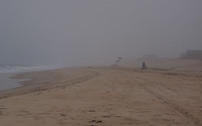 Misty Day on the Beach
