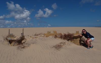 Jockey's Ridge Sand Castle