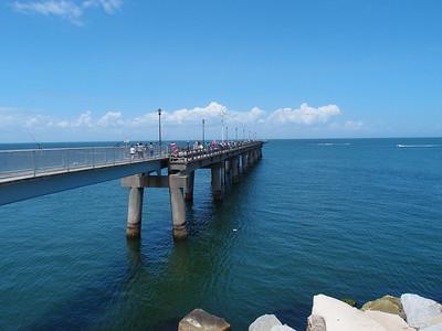 Pier on the Chesapeake Bay Bridge-Tunnel